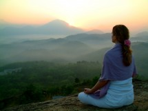 sunrise meditation